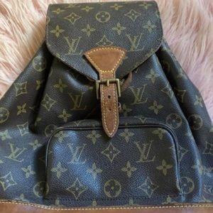 Authentic Louis Vuitton Montsouris Backpack (MM)